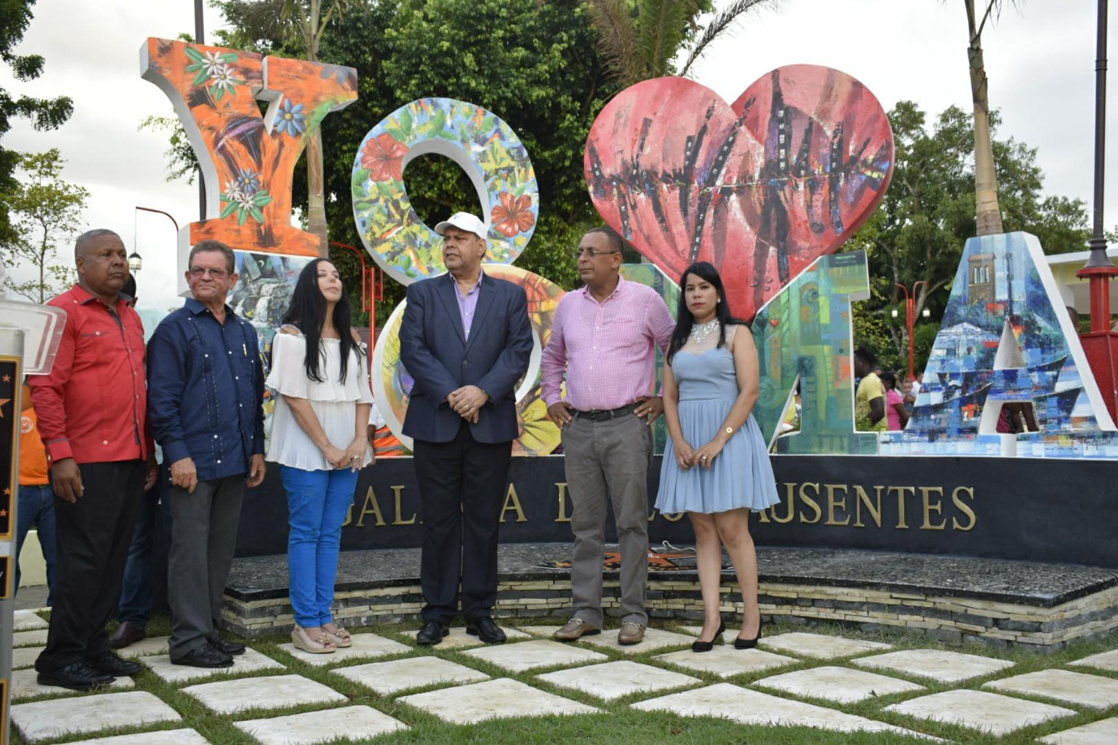 Reinauguración del Parque Juan Pablo Duarte