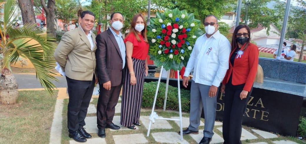 Loma de Cabrera celebra el 177 Aniversario de la Independencia Nacional