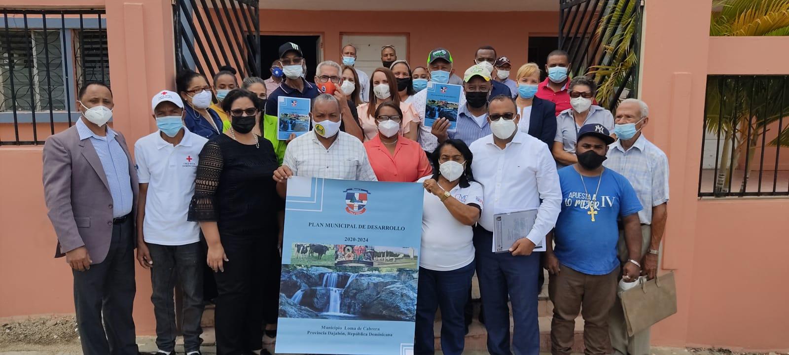 La Alcaldía Municipal de Loma de Cabrera presenta su Plan de Desarrollo Municipal 2020-2024